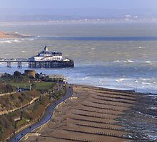 Eastbourne promenade and seafront by Karen Adams