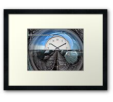 Bubble of illusion  Framed Print