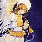 Christmas Angel by artbyrachel