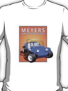 Dune Buggy Blue Manx Orange Box T-Shirt
