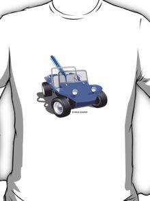 Dune Buggy Manx w Surfboard T-Shirt