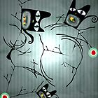 Lighting nature black cats delicious birds  by Ruth Fitta-Schulz