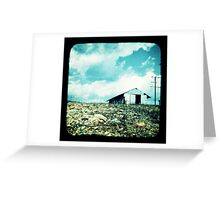 The Old Tin Shed Greeting Card