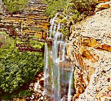 Wentworth Falls by Trevor  Tanner