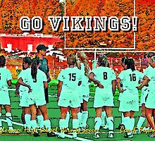 2009 Inglemoor Vikings Girls' Varsity Soccer - Autumn by Leanne  Thomas