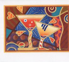EVENING MARTINIS by Judy Dori