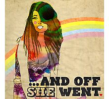 ...and off she went ♥ Photographic Print