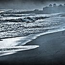 Running on the beach by Barbara  Corvino