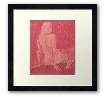 Goddess of Dusk Framed Print