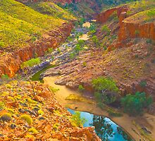 Ormiston Gorge by pennyswork