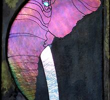 Pink Elephant by Leslie Guinan