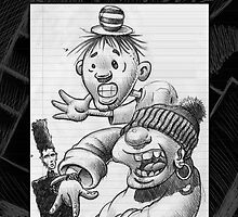Another  doodle from my Book! by Mike Cressy