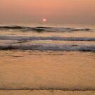 Arrawarra Sunrise by Leanne Nelson