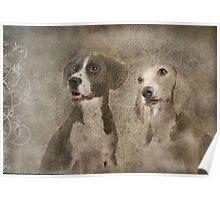 Bentley & Sophy Poster