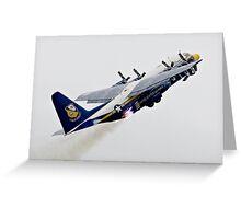 Fat Albert - Blue Angels Support Hurcules Greeting Card