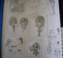 random drawings i do. by xXLauraXx