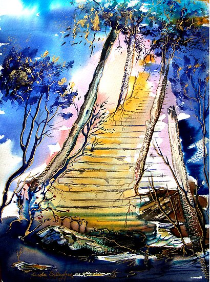 Stairway to Heaven - Fantasy by © Linda Callaghan