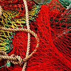 Colourful Nets...Hobart,Tasmania by graeme edwards