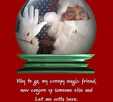 Holiday Crystal Ball by colleen e scott