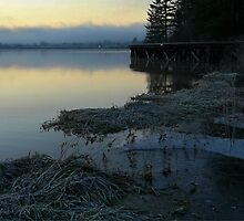 Dawn at the Old Trestle by NancyR