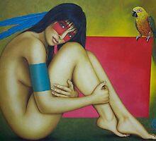 Tropical Woman by gcrisostomo