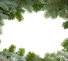 christmas frame by peterwey
