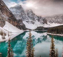 Moraine Lake by Gordon Brebner