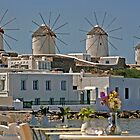 Windmills of Mykonos by imagic