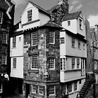 John Knox House, Edinburgh.  by Finbarr Reilly