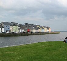 View of Longwalk at The Claddagh by Orla Cahill Photography
