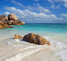 Grand Anse, La Digue, Seychelles  by bevgeorge