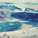 A Polar Bear for Tezz by IngridSlott