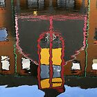 Reflection Birmingham Canal by Barry Culling