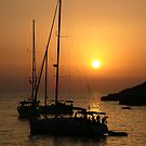 Sundown, Ibiza by Alex Bonner
