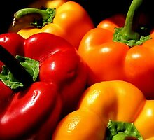 Peppers by Rosemary Carter-Molnar