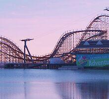Roller coaster by schiabor