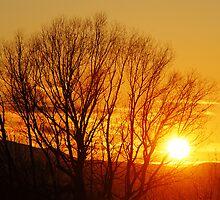 Sunset - South Lehi, Utah by Ryan Houston