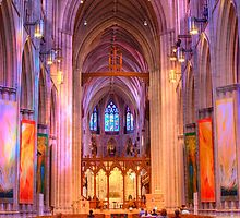 Washington National Cathedral by Justin Baer