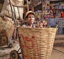 Basketcase - Talat Dao Heung (Dao Heung Market), Pakse, Laos by AsiaArchaeology