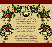 A Christmas Prayer by Terri Chandler