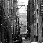 Winter Alley by Ernest Strawser