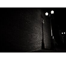 the wrong alley Photographic Print