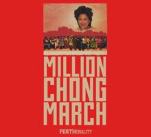 Million Chong March by skink1984