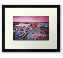 Smile of the Passing Day Framed Print