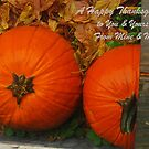 Thanksgiving Card by Virginia Shutters