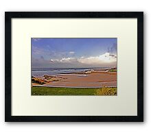 thoughts of you... Framed Print