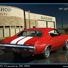Chevelle 1970 Red Back 454 by 454autoart
