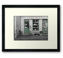 Belle Maison Framed Print