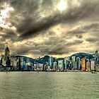 Hong Kong Skyline - Panoramic HDR by HKart