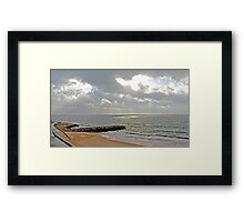 Sto. Amaro beach Framed Print